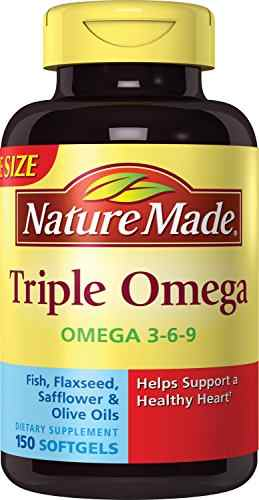 Nature's Best Nature Made Triple Omega 3-6-9 (150 Softgels)