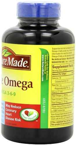 Nature's Best Nature Made Triple Omega 3-6-9 (150 Capsules)