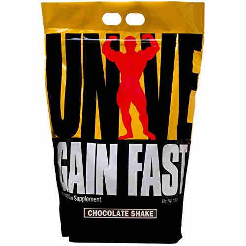 Universal Nutrition Gain Fast weight Gainer (4.53Kg, Chocolate)