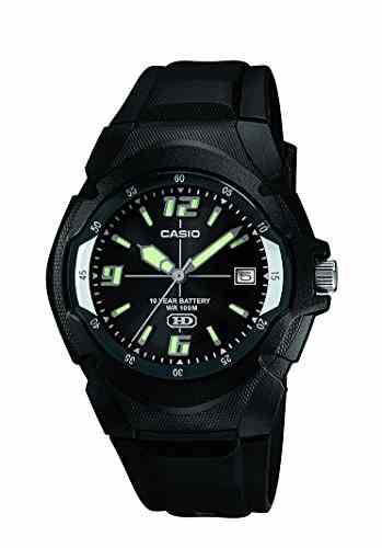 Casio Enticer MW-600F-1AVDF (A505) Analog Black Dial Men's Watch (MW-600F-1AVDF (A505))