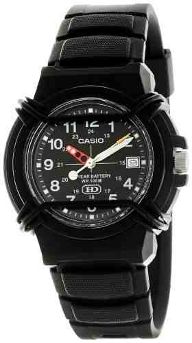 Casio Enticer HDA-600B-1BVDF (A508) Analog Black Dial Men's Watch