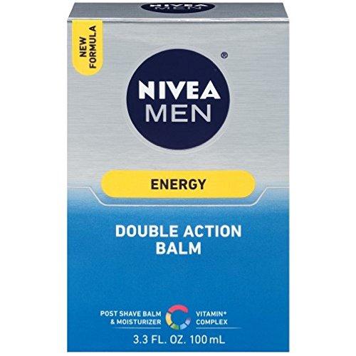 Nivea Revitalizing Double Action Shave Balm 3.3 oz.