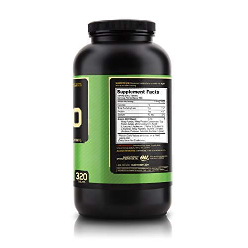 Optimum Nutrition Superior Amino 2222 (320 Capsules)