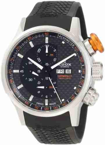 Edox 01118 3 NO Chronorally Analog Watch
