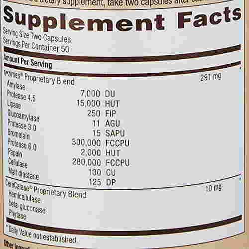Gnc Super Digestive Enzyme Supplement (100 Capsules)