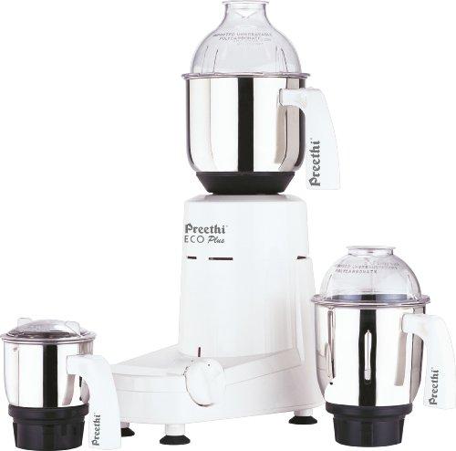 Preethi Eco Plus - MG 138 550W Mixer Grinder
