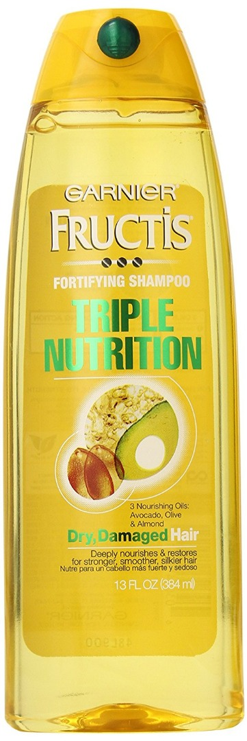Garnier Fructis Triple Nutrition Shampoo 384ml