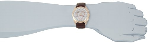 Citizen Eco-Drive AT1183-07A Chronograph White Dial Men's Watch