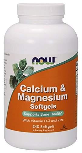 Now Foods Calcium & Magnesium (240 Softgels)