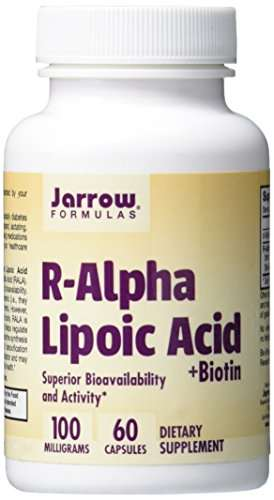 Jarrow Formulas R-Alpha Lipoic Acid Dietery Supplement (60 Capsules)