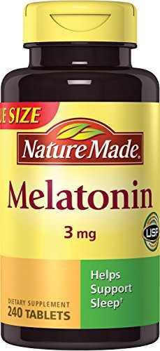 Nature's Made Melatonin 3mg (240 Capsules)