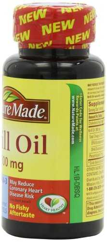 Nature's Made Krill Oil 300mg (60 Capsules)