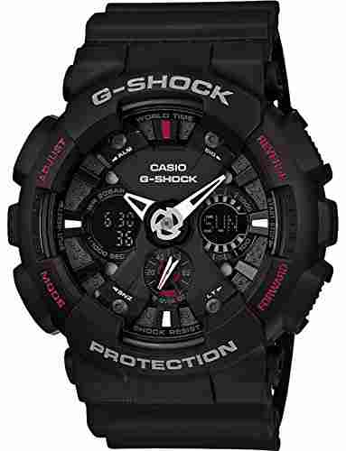 Casio G-Shock GA-120-1ADR (G346) Analog-Digital Black Dial Men's Watch (GA-120-1ADR (G346))
