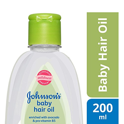Johnsons Baby Hair Oil, 200 ml