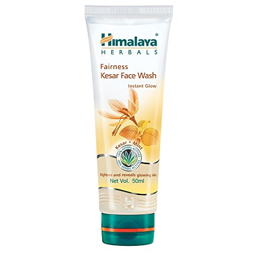 Himalaya Herbals Fairness Kesar Face Wash, 50 ML