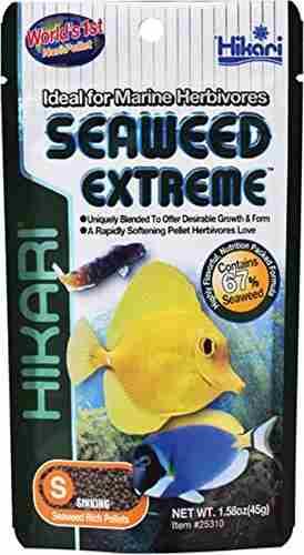 Hikari Seaweed Extreme Marine Herbivores Fish Food (45 gm)