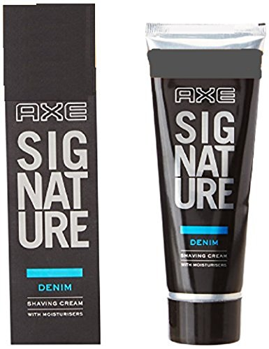 AXE Denim Lather Shaving Cream, 60 g (with 30% Extra)