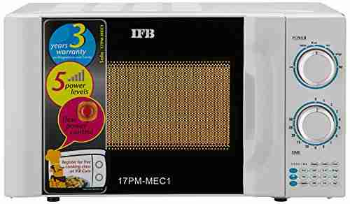 IFB 17 17 PM MEC 2B Solo Microwave Oven White