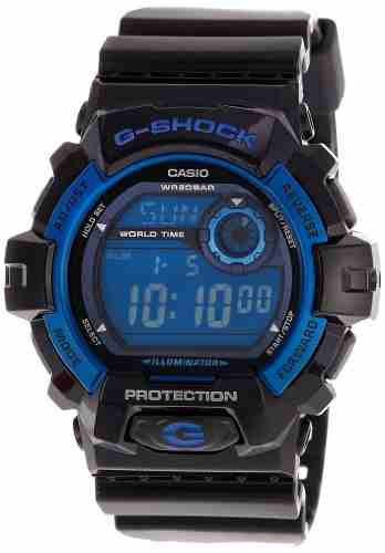 Casio G-Shock G-8900A-1DR (G354) Digital Blue Dial Men's Watch (G-8900A-1DR (G354))