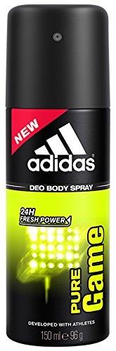 Adidas Pure Game Body Spray For Men, 150 ML