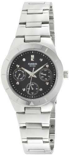 Casio Enticer LTP-2083D-1AVDF (A528) Black Dial Women's Watch (LTP-2083D-1AVDF (A528))