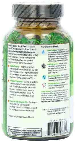 Irwin Naturals Fish Oil Pure Vitamin D3 Supplements (60 Capsules)