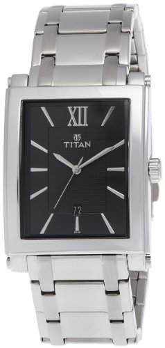 Titan NH9327SM02A Formal Steel Analog Watch (NH9327SM02A)