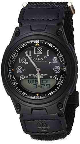 Casio Youth AD126 Combination Analog-Digital Watch