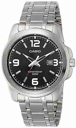 Casio Enticer MTP-1314D-1AVDF (A550) Analog Black Dial Men's Watch (MTP-1314D-1AVDF (A550))