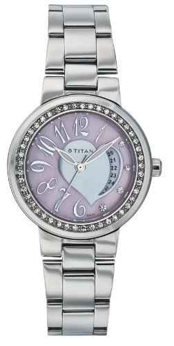 Titan Purple NC9855SM02 Analog Watch