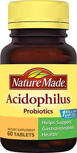 Nature Made Acidophilus Probiotics (60 Capsules)