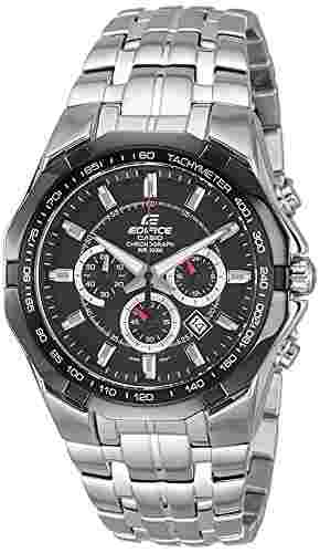 Casio Edifice EF-540D-1AVDF (ED371) Chronograph Black Dial Men's Watch (EF-540D-1AVDF (ED371))