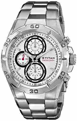 Titan NF9308SM01 Octane Analog Watch