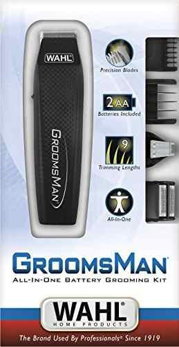 Wahl 5537-3024 Groomsman Grooming Kit Trimmer