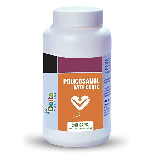 Delta Matters Policosanol With Coq10 (240 Capsules)