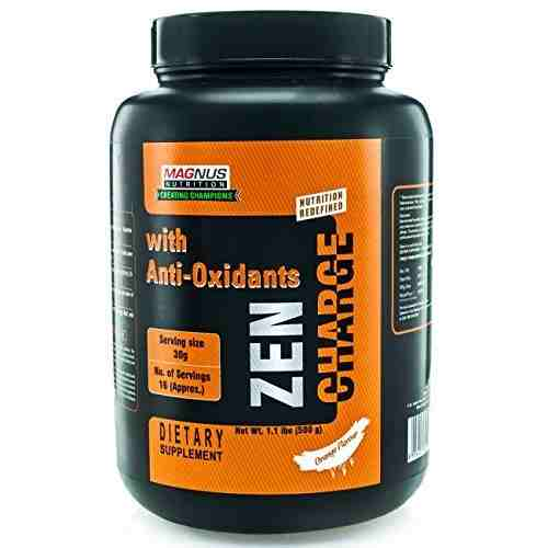 Magnus Nutrition Zen Charge (500gm, Orange)
