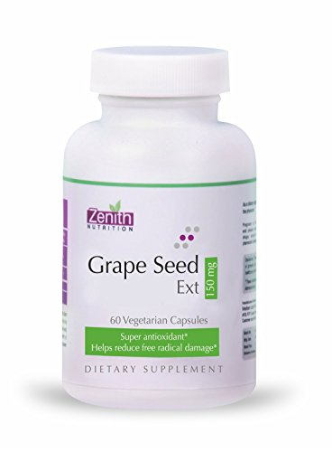 Zenith Nutrition Grape Seed Extract 150mg Supplement (60 Capsules)