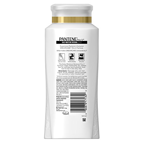 Pantene Pro-v Daily Moisture Renewal 2 In 1 Shampoo and Conditioner 20.1Oz