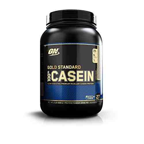 Optimum Nutrition 100% Casein Protein (909gm, Cookie Dough)