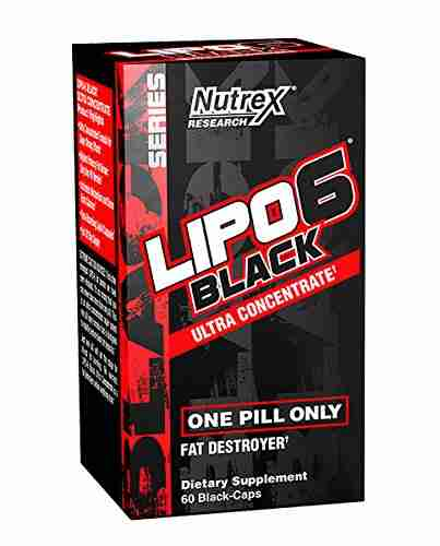 Nutrex Lipo-6 Black Ultra Concentrate (60 Capsules) Unflavoured