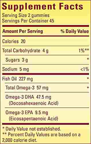 Nature's Made Fish Oil Adult Supplement (90 Capsules)