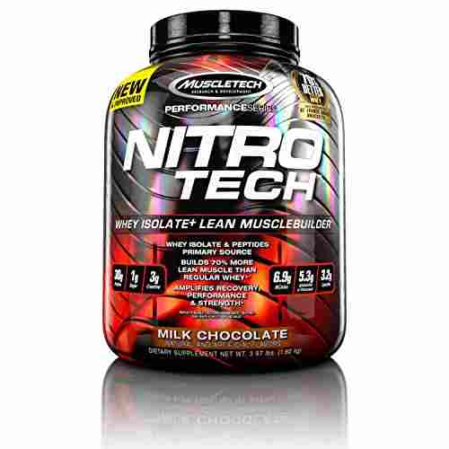 Muscletech Performance Series Nitrotech (3.97 lbs, Milk Chocolate)