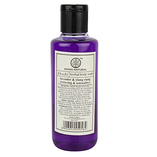 Khadi Lavender and Ylang Ylang Body Wash, 210ml