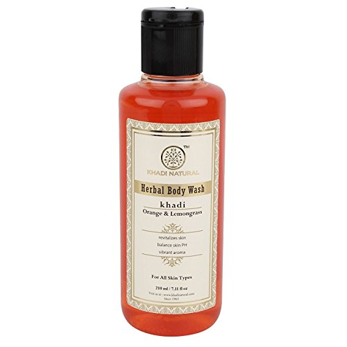 Khadi Orange And Lemongrass Body Wash, 210ml
