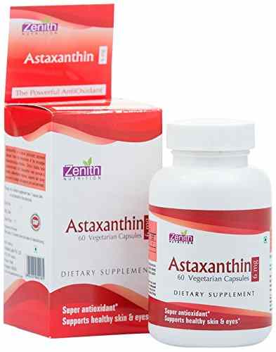 Zenith Nutrition Astaxanthin 6mg Supplements (60 Capsules)