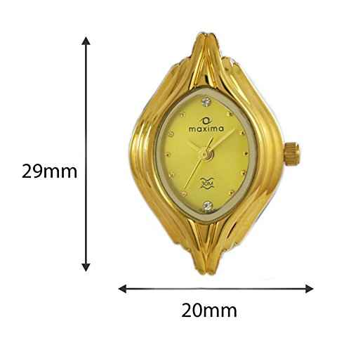 Maxima 04886BMLY Gold Analog Watch