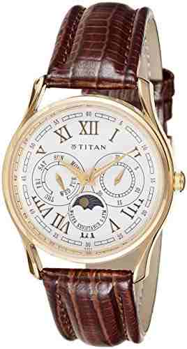 Titan NH1487YL01 The Daddie Analog Watch (NH1487YL01)