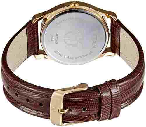 Titan NH1487YL01 The Daddie Analog Watch (NH1487YL01)