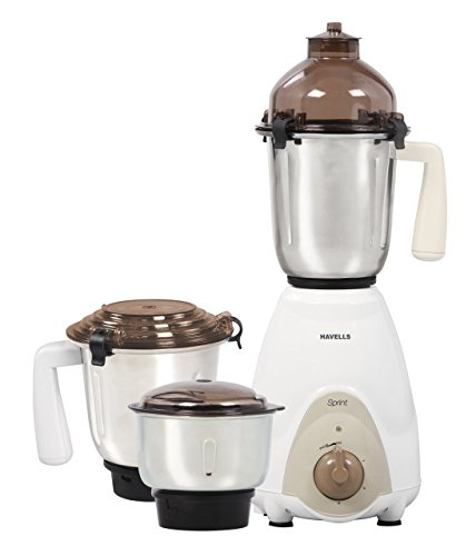 Havells Sprint 600 Watts Mixer Grinder, White