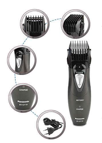 Panasonic ER-GY10 Body Grooming Kit 6 In 1 Trimmer
